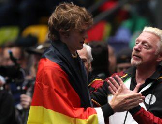 """Becker über Zverev: """"Im Ausland wird er als Star gefeiert"""""""