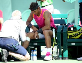 """Toni Nadal: """"Rafael ist ein Verletzter, der Tennis spielt"""""""