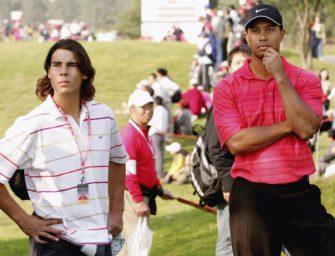 """Nadal über Tiger Woods: """"Eine Inspiration für jeden"""""""