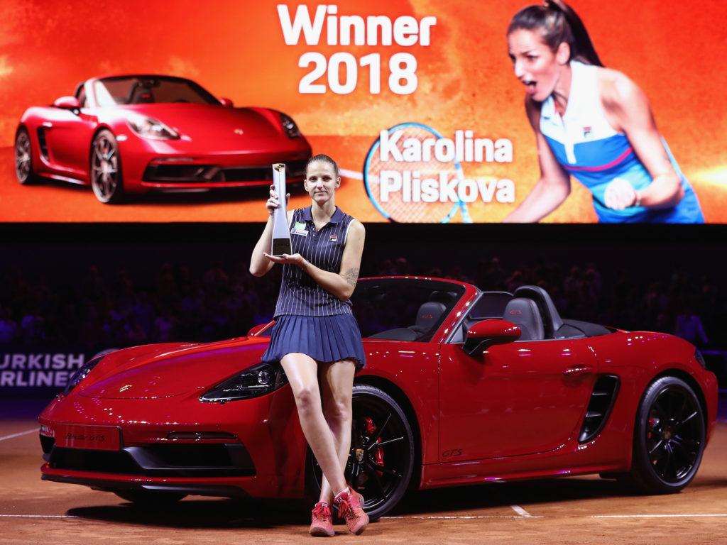 Karolina Pliskova – Porsche Tennis Grand Prix
