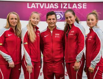 Fed Cup: Lettlands historische Chance gegen Deutschland