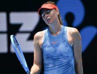 Scharapowa sagt auch Start bei French Open ab