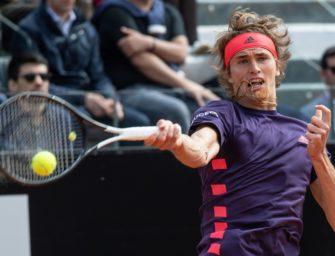 Alexander Zverev im Viertelfinale von Genf