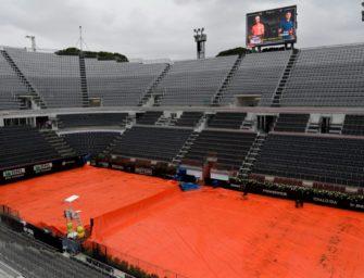 Struff-Match beim ATP-Masters in Rom fällt Regen zum Opfer