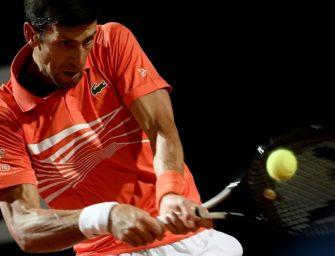 Djokovic übersteht Nachtschicht in Rom