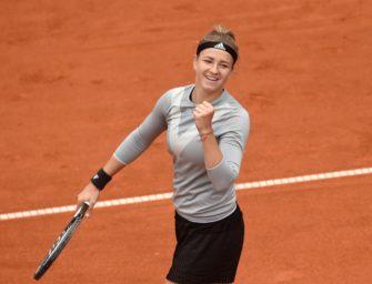 Qualifikantin Muchova erstmals in einem WTA-Finale