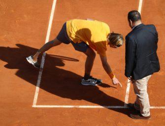 Plan der Tennis-Verbände: Hawk-Eye statt Linienrichter