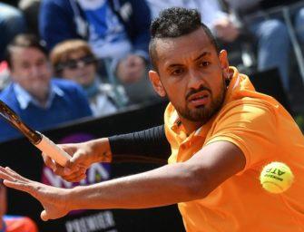 Bad Boy Kyrgios beim ATP-Masters in Rom disqualifiziert
