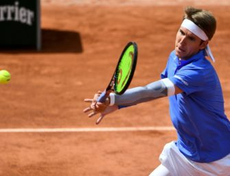 French Open: Stebe chancenlos gegen Chatschanow