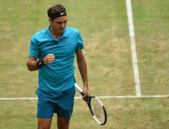 Federer wünscht sich Fortbestehen des Rasenturniers in Halle