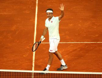 Sieg auf Sand: Federer im Achtelfinale von Madrid