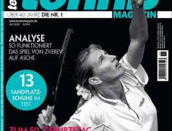 Tennis Magazin 06/2019: Steffi Graf wird 50!