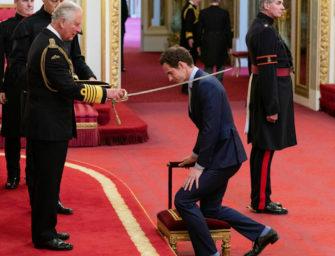"""""""Sir Andy"""" Murray offiziell zum Ritter geschlagen"""