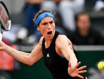 Großer Kampf! Petkovic einzige deutsche Spielerin in Runde 3