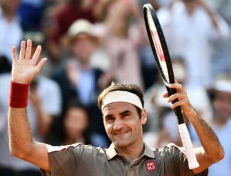 Federer schlägt Wawrinka und trifft auf Nadal