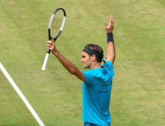 """Ambitionierter Federer in Halle: """"Der Sieg muss immer das Ziel sein"""""""