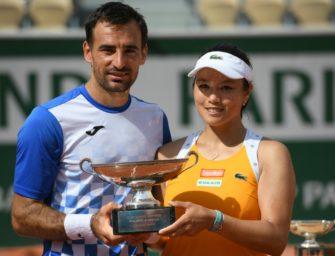 Chan/Dodig erneut Mixed-Sieger in Roland Garros
