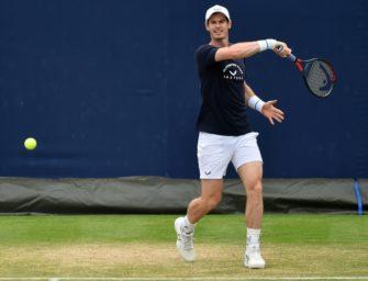 Murray mit erfolgreichem Comeback im Doppel