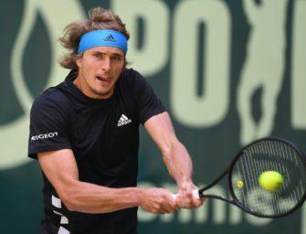 Niederlage gegen Goffin: Zverev in Halle im Viertelfinale gescheitert