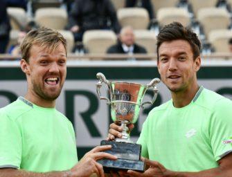 Erstes Spiel nach Grand-Slam-Triumph: Dämpfer für Krawietz/Mies