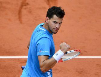 Thiem schlägt Djokovic und trifft erneut auf Nadal