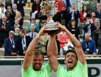 Geplättet: Mies und Krawietz verzaubern die deutsche Tenniswelt