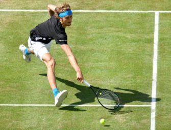 ATP-Turnier in Stuttgart: Zverev verpatzt Auftakt in Rasensaison
