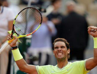Nadal zum zwölften Mal im Halbfinale der French Open