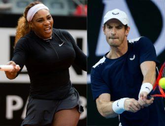 Wimbledon: Murray liebäugelt mit Serena Williams als Mixed-Partnerin