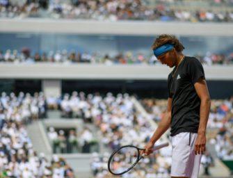 Zverev im Viertelfinale an Djokovic gescheitert