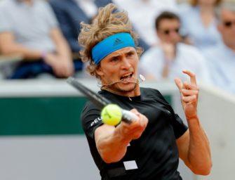 Zverev im Viertelfinale – jetzt gegen Djokovic