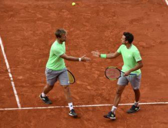 French Open: Krawietz/Mies triumphieren im Doppel