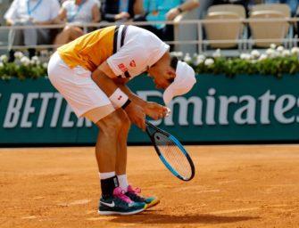 Nishikori sagt Teilnahme bei ATP-Turnier in Halle ab