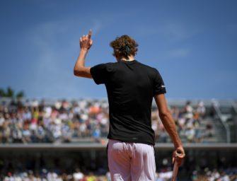 French Open: Zverev in der Achterbahn