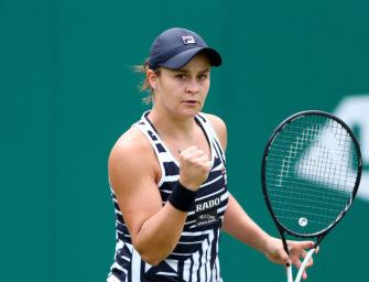 WTA-Tour: Ashleigh Barty mit großer Chance auf die Nummer 1