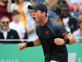 Dominik Köpfer: Plötzlich im Hauptfeld von Wimbledon
