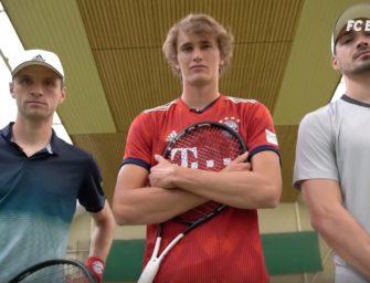 """""""ThoMats Challenge"""": Zverev zu Gast beim FC Bayern"""