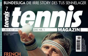 Tennis Magazin 07/2019: Mythos Borg