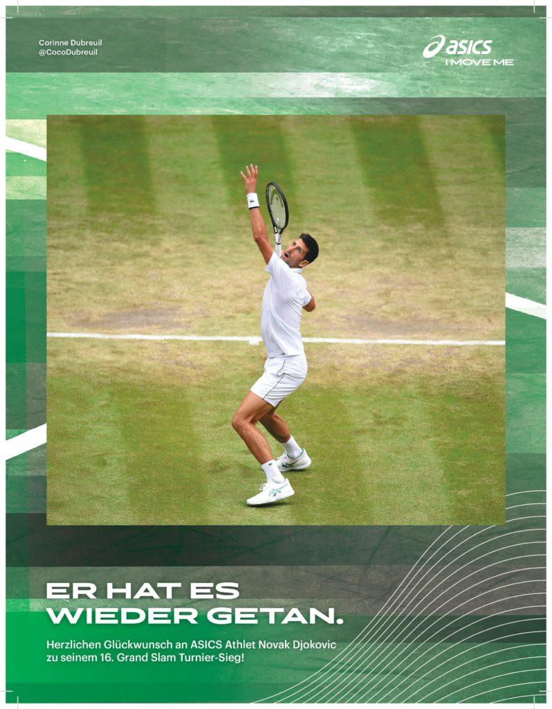 Novak Djokovic – Asics