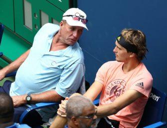 Medien: Lendl nicht mehr Zverev-Coach