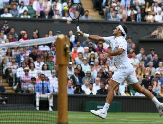 Auch Federer mit souveränem Achtelfinal-Erfolg in Wimbledon