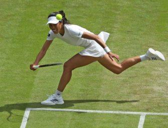 Taiwanesin Hsieh gewinnt erneut Damendoppel in Wimbledon