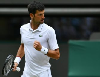 Djokovic in Wimbledon weiter auf Kurs