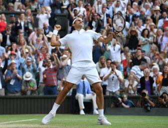 Sieg gegen Nadal: Federer im Finale von Wimbledon