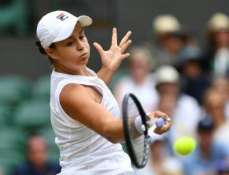 Wimbledon: Weltranglistenerste Barty verliert im Achtelfinale