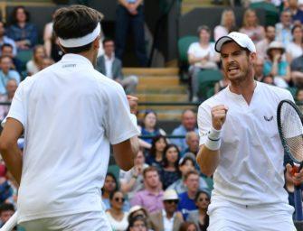 Murray bei Wimbledon-Comeback mit Auftaktsieg im Doppel