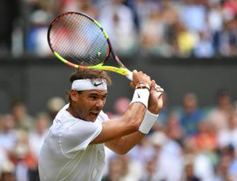 Nadal nimmt nächste Hürde in Wimbledon souverän