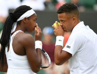 Wimbledon-Sensation Gauff im Mixed ausgeschieden