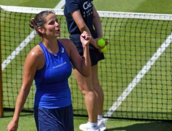 Görges stürmt in Runde drei – Revanche gegen Serena winkt