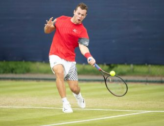Wimbledon-Debütant Köpfer verliert in Runde zwei